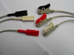 LL 3-lead Grabber ECG leadwires