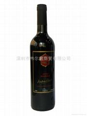 澳大利亞安德魯爵士干紅葡萄酒