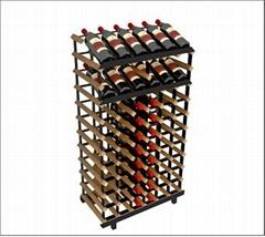 波多櫃臺式新型展示儲藏組合酒架