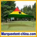 Ghana flag marquee tent