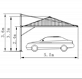 Cantilevered structure 4