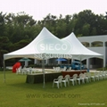Rectangle marquee tent