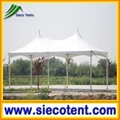 Newest design high quality 5*10m rectangle style garden pavilion tent for sale