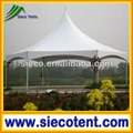 Hexagon high peak tent