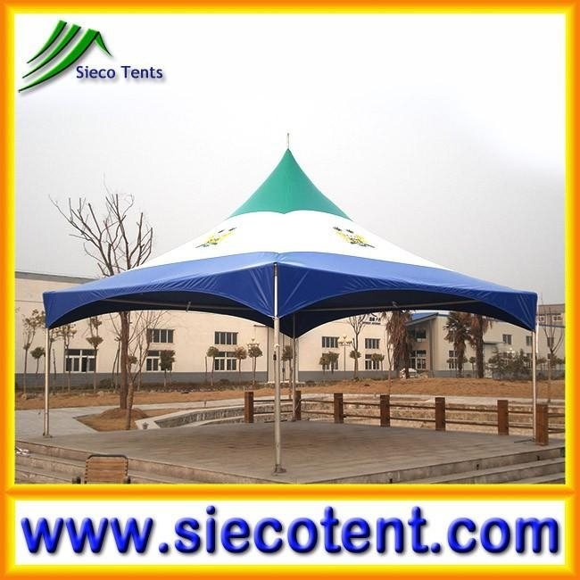 New design fashion low price Sierra Leone National flag square marquee tent