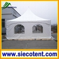 2015 new design 20'x20' with sidewalls outdoor winter party tent square marquee