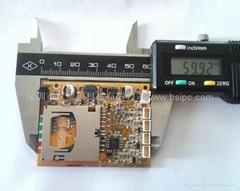 微型SD卡录像机主板模块车载DVR模组
