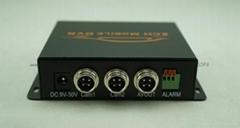 兩路車載錄像機2路SD卡DVR雙路出租車摩托車記錄儀128G
