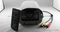 百万高清红外防水摄像机SD卡摄像头