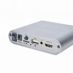 游戏录像机高清SD卡DVR内窥镜录制盒HDMI音视频存储器U盘录像USB