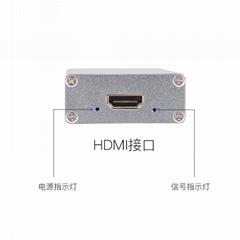 HDMI采集卡USB3无损1080P采集