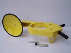 钳式车轮锁