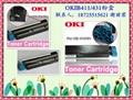OKIB411粉盒 OKI431硒鼓 1