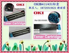 OKIB411粉盒 OKI431硒鼓