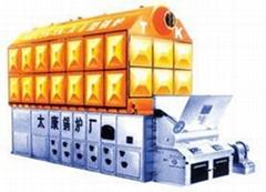 太康鍋爐4噸臥式快裝常壓熱水鍋