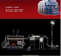 2吨燃煤蒸汽锅炉