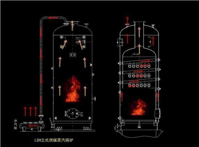4噸燃煤蒸汽鍋爐 1