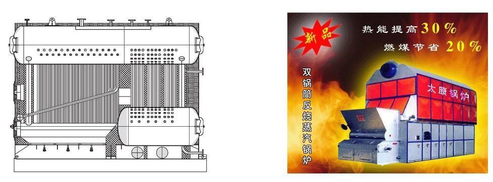 山西2噸燃氣蒸汽鍋爐 1