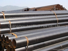 API 5L ERW Black Steel Tubes