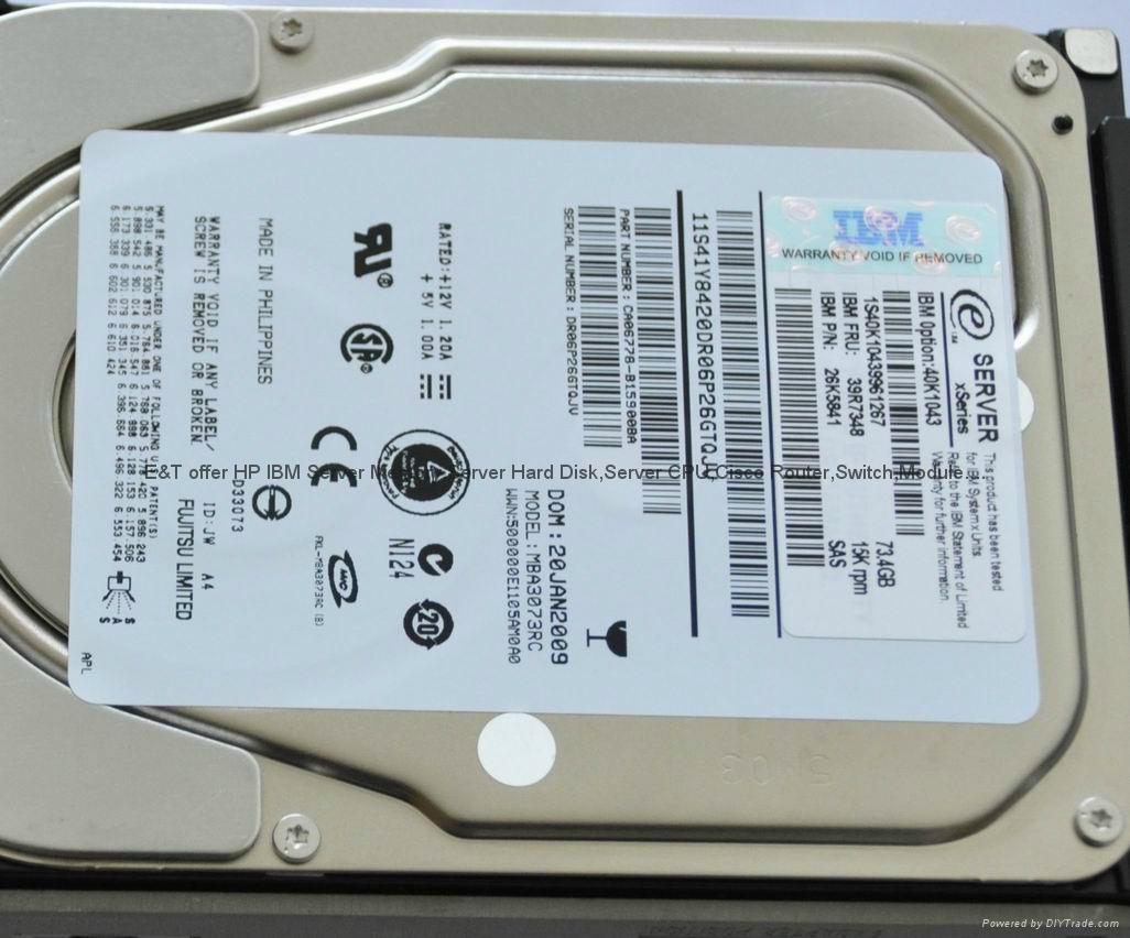 IBM server hard disk 42d0752|81y9726|81y9844|42D0754 81y9730|81y9848|81Y9732 2