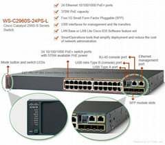 cisco switch WS-C2960XR-24PD-I WS-C2960XR-48LPD-I WS-C2960XR-48FPD-I