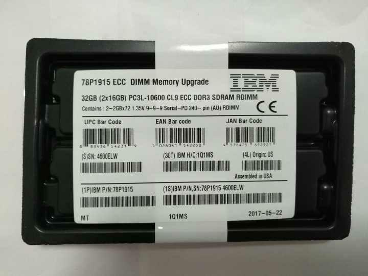 IBM DDR4 memory 46W0798 95Y4812 46W0833 46W0829 46W0825 2