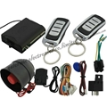 Car alarm system with support ultrasonic