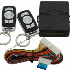 car keyless entry with remote central lock  trunk release optional light blink