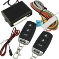 Car keyless system with 2 transmitter folding key remote trunk release function