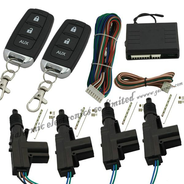 Car Central locking system with  remote control door lock&unlock light blink 1