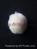 High pure white water filter cotton ball