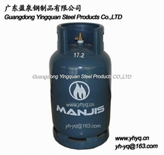 坦桑尼亞15KG液化石油氣鋼瓶