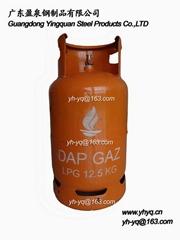 剛果12.5KG液化石油氣鋼瓶