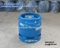 非洲6KG液化石油氣鋼瓶