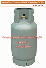 非洲加納15KG液化石油氣鋼瓶