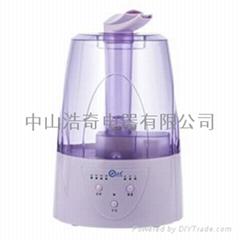 超聲波家用加濕器HQ-2008B1雙水泉