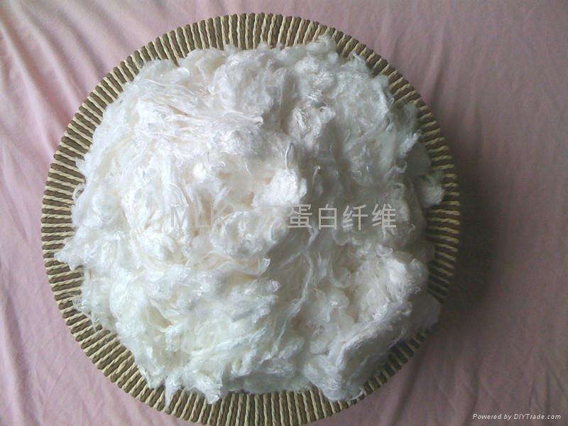 珠力牛奶蛋白纤维 4