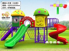 幼儿園戶外大型滑梯