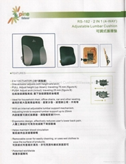 Adjustable Car Seat Back Cover,Lumbar Support
