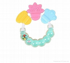 Funny Rattle Silicone Ba