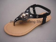 2014 high quality ladys new design fashion craft sandal