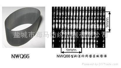 NWQ-PS系列新结构集聚纺网格圈(平条纹式—镀银) 1