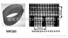 NWQ-PS系列新結構集聚紡網格圈(平條紋式—鍍銀)