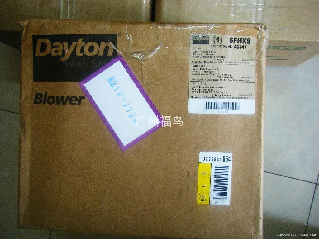DAYTON風機, 型號: 6FHX9