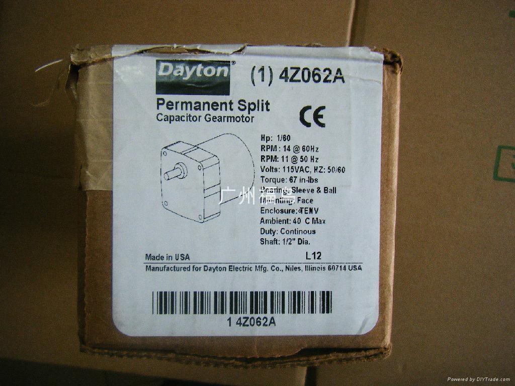 DAYTON電機, 馬達, 型號: 4Z062A