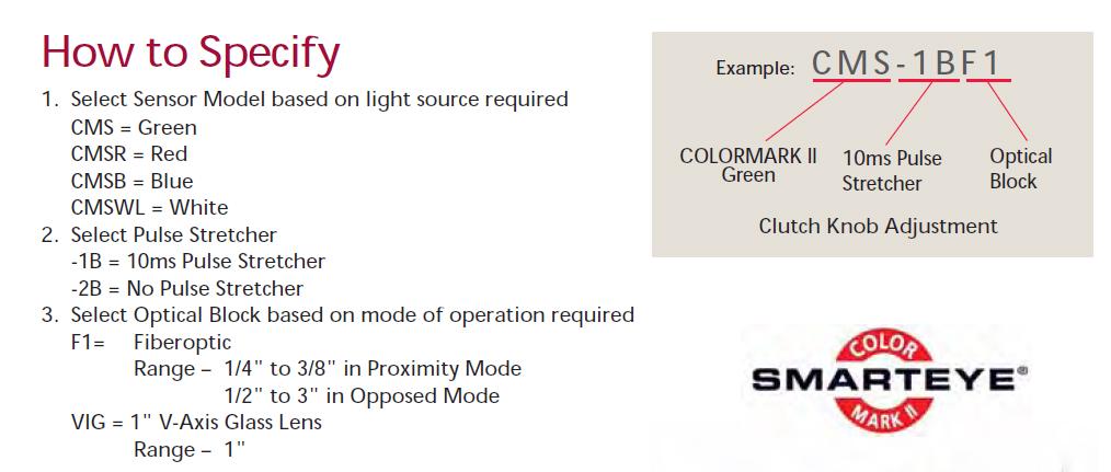 供應TRI-TRONICS光纖放大器, 傳感器(CMS-1BF1) 7