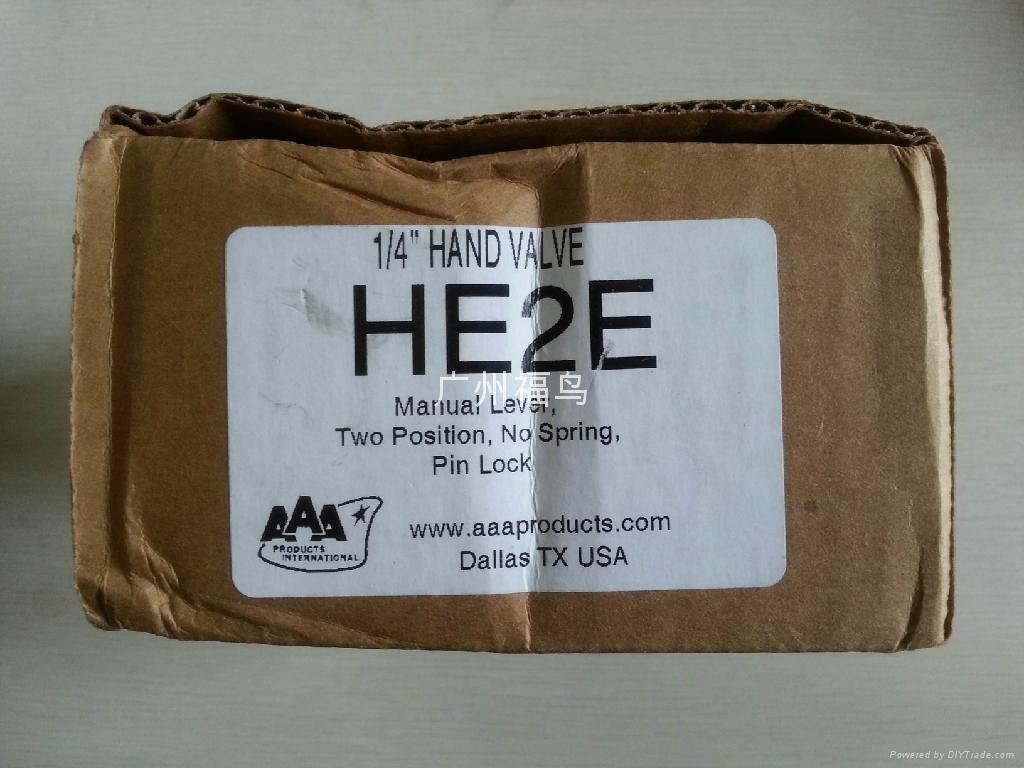 AAA手動閥, 型號: HE2E