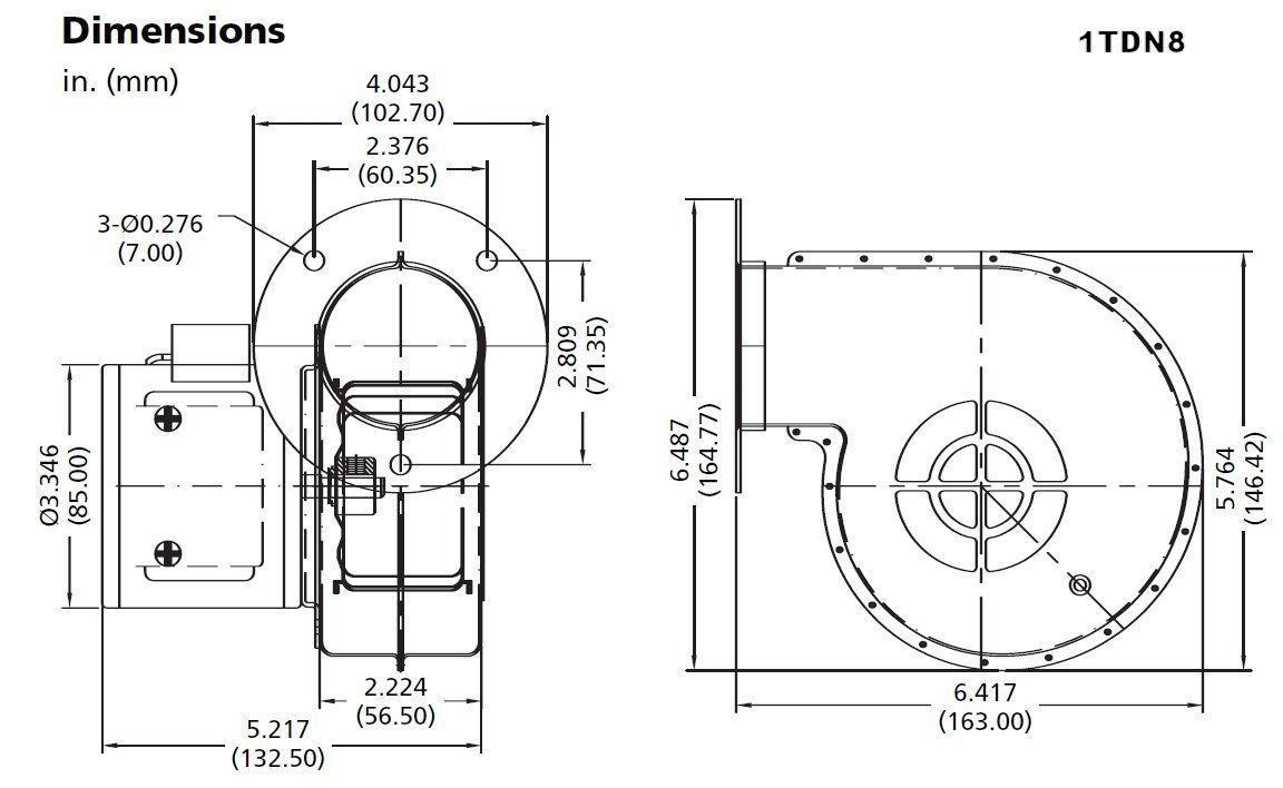 现货供应DAYTON风机(1TDN8, 2C914, 2C914A) 11