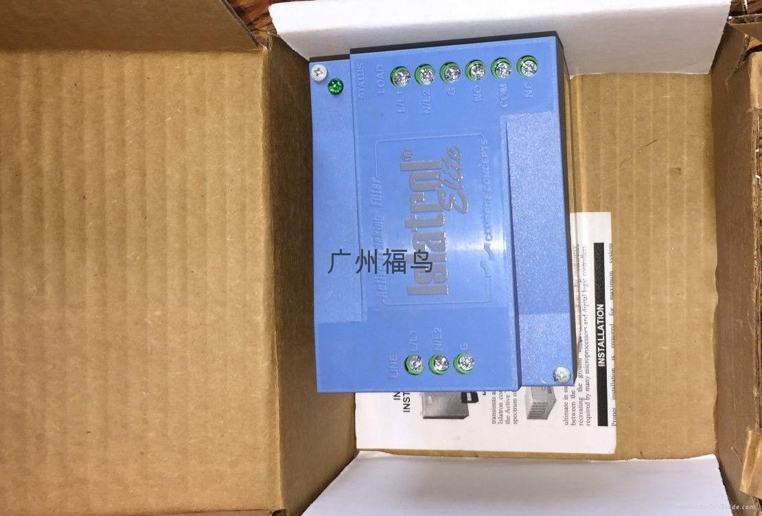 供应EMERSON (CONTROL CONCEPTS)电源滤波器(IE-120) 4