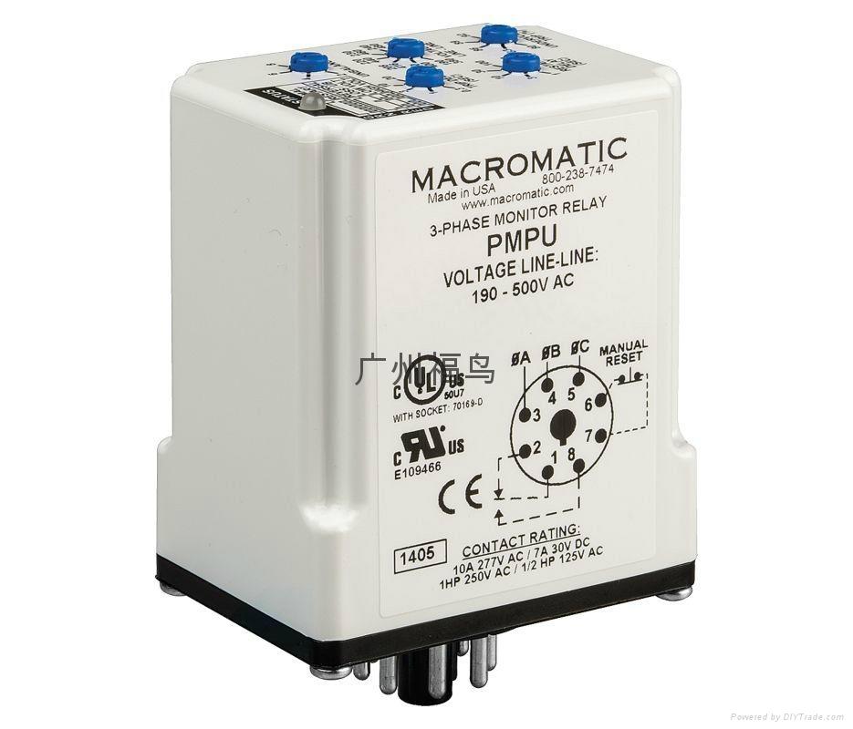MACROMATIC继电器, 型号:PMPU